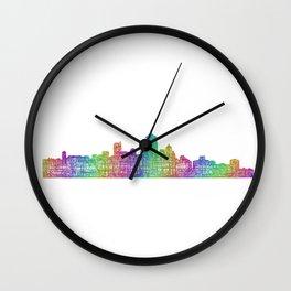 Vancouver Wall Clock