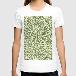William Morris. Willow Bough Vintage Remix Illustration. T-shirt