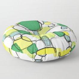 Playful Meditation 3 Floor Pillow