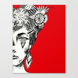 """""""All the dreams she kept coiled beneath her bones""""- C. Poindexter Canvas Print"""
