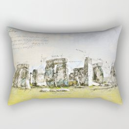 Stonehenge, England Rectangular Pillow