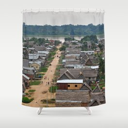 Primitive doesn't mean less than Shower Curtain