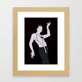 Emcee From Cabaret Framed Art Print