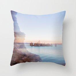 Mono Lake, South Tufa Throw Pillow