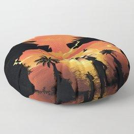 Goku Sunset Floor Pillow