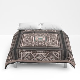 National classic abstract pattern retro print Comforters