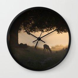 Richmond Park - 10, September 2015 Wall Clock