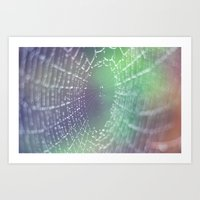 psychedelic Art Prints featuring Psychedelic by Karin Elizabeth