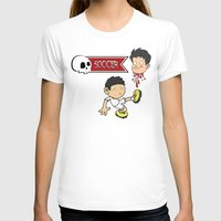 soccer T-shirts featuring Soccer Skull by flydesign