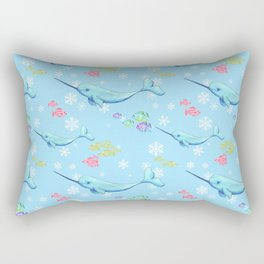 Narwhal and Friends Rectangular Pillow