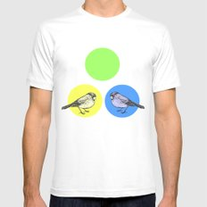 Together we make green Mens Fitted Tee White MEDIUM