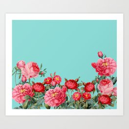 Fab Floral Art Print