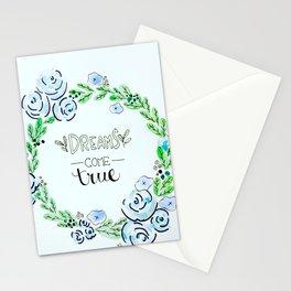 Dreams Come True Stationery Cards