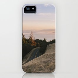 Mt. Tamalpais Sunset iPhone Case