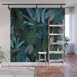 Tropical Night Wall Mural