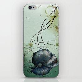 Water Head iPhone Skin