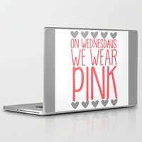 mean girls Laptop & iPad Skins featuring Mean Girls by GeekCircus