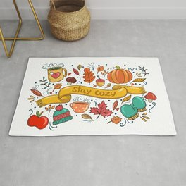 Stay Cozy in Autumn Rug