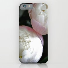 Peony in darkness iPhone 6s Slim Case