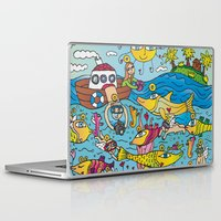angels Laptop & iPad Skins featuring Angels by Kamil Kopecky