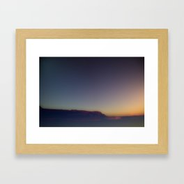 .bay. Framed Art Print