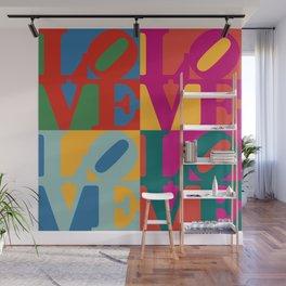 Love Pop Art Wall Mural