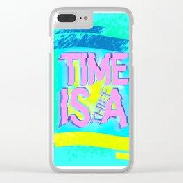 Glitch In Time: Thief Clear iPhone Case