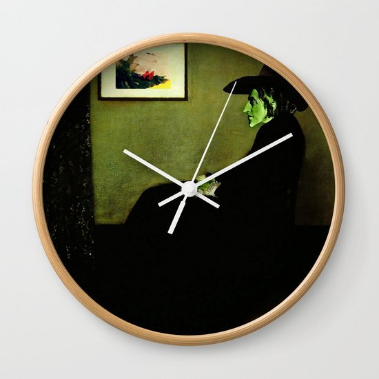Wizzler's Mother  |  Wicked Witch Wall Clock