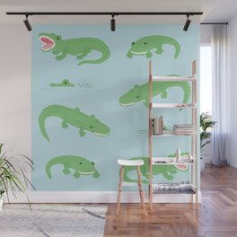 see you later, alligator. Wall Mural
