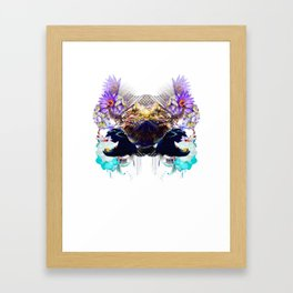 Condescending Bearded Dragon Discovers Masterful Judges After Midnight Framed Art Print
