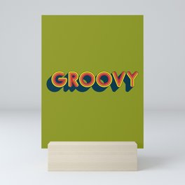 Groovy Mini Art Print