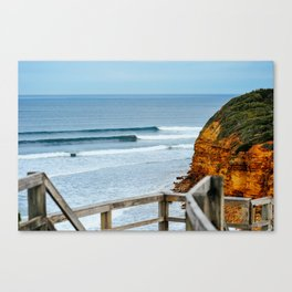 Sets, Bells Beach, Victoria, Australia Canvas Print