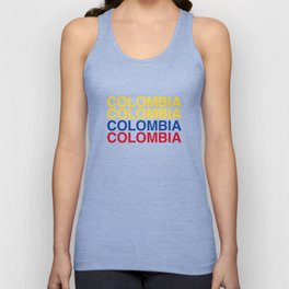 COLOMBIA Unisex Tank Top