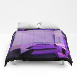 PURPLE FEBRUARY AMETHYST GEMS Comforters