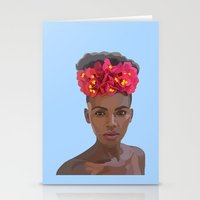 goddess Stationery Cards featuring Goddess by Grace Teaney Art