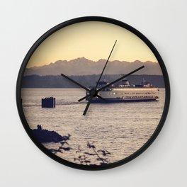 Puget Sound Ferry Wall Clock