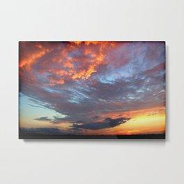 Sunset 062617 Tye, Texas Metal Print