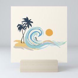 Minimalistic Summer II Mini Art Print
