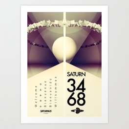 Saturn 3468 Art Print