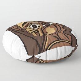 Pablo Picasso, Tete de Femme (Head Of A Woman) 1962 Artwork Reproduction Floor Pillow
