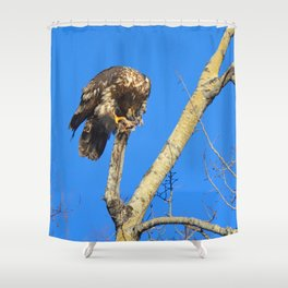 Houdini in Feathers! Shower Curtain