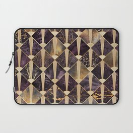 Art Deco Tiles - Plum Laptop Sleeve