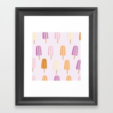 Ice Lolly - Popsicle Framed Art Print