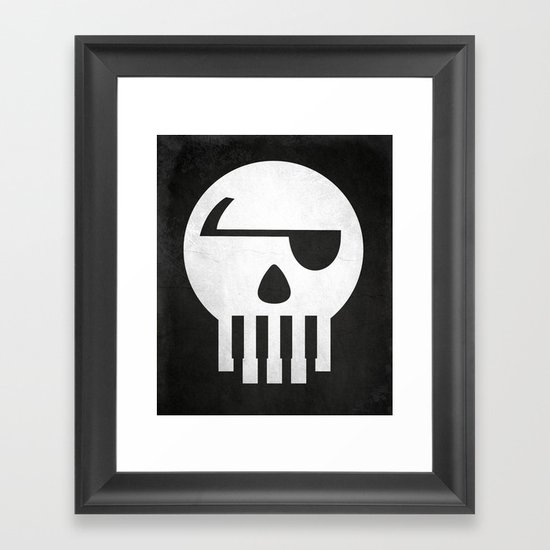 Music Piracy Framed Art Print