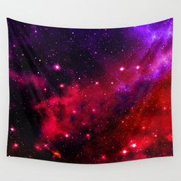 Pink Black Blue Wall Tapestry