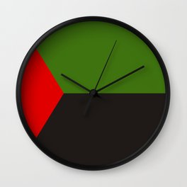martinique independence flag Wall Clock