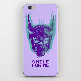THE EXECUTIONER'S GRIN iPhone Skin