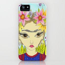 Flores de Frida iPhone Case