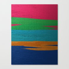 Linear Abstraction Canvas Print