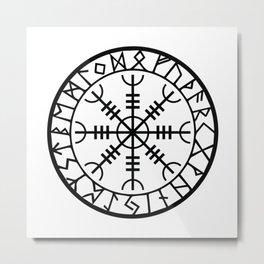 Norse - Helm of Awe Metal Print